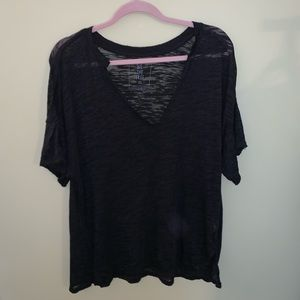 Free People v neck tee